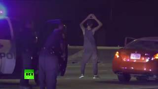 But first, I dance: Suspect shows his moves before being arrested