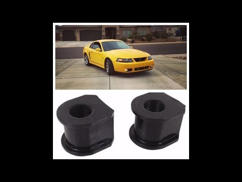 How to replace a front sway bar bushing: Ford Mustang 1994-2004