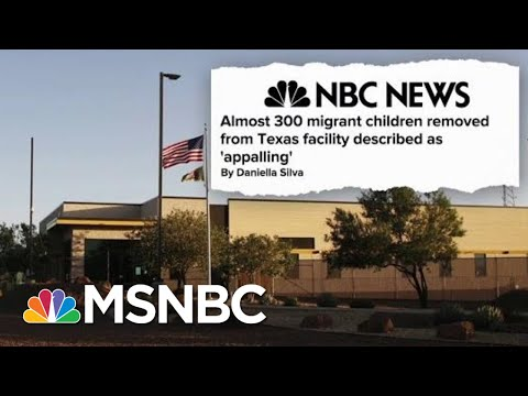 Xxx Mp4 Almost 300 Migrant Children Removed From Texas Facility Described As 39 Appalling 39 Hardball MSNBC 3gp Sex