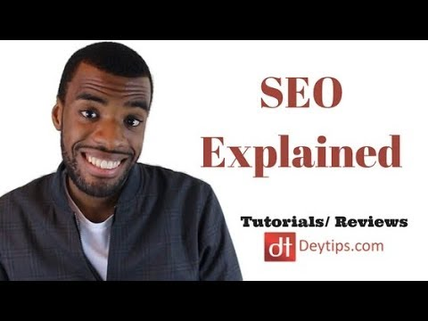 Search Engine Optimization For Beginners | SEO Explained