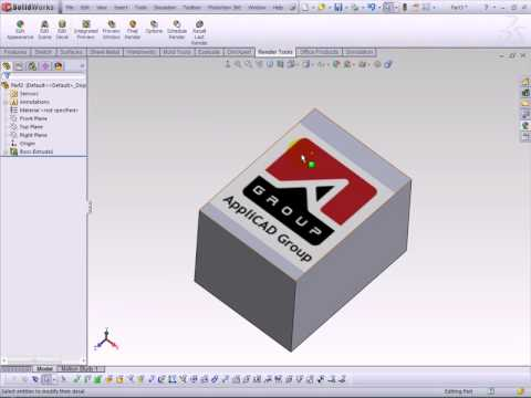 SolidWorks Decal