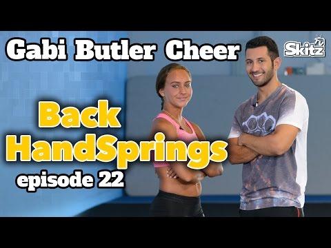 Back Handspring Tutorial | Episode 22 | Gabi Butler Cheer