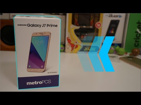 Samsung Galaxy J7 Prime Unboxing and First Impressions   Metro PCS
