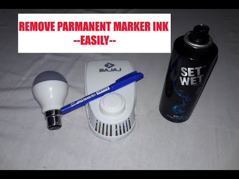 How to Remove Permanent Marker from anything IN HINDI
