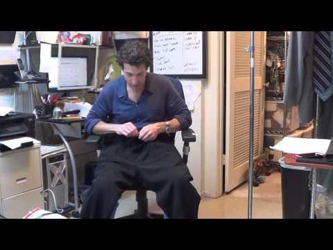 y3829 Giorgio Armani Black Label Mens Wool Crepe Pleated Pants Slacks Sz. EU 52 US 36