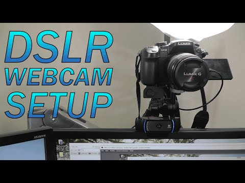 How to Use a DSLR as a Webcam | BEST Setup (imho) | Panasonic GH3