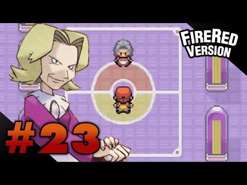 Let's Play Pokemon: FireRed - Part 23 - Elite Four Agatha