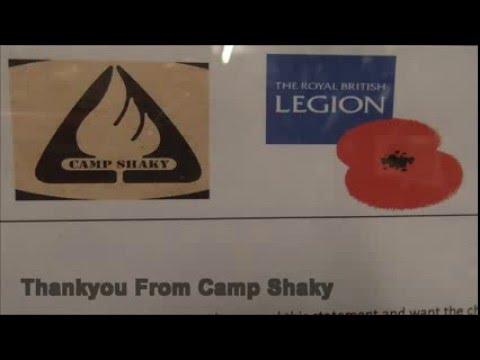 Royal British Legion Cotswold way charity walk