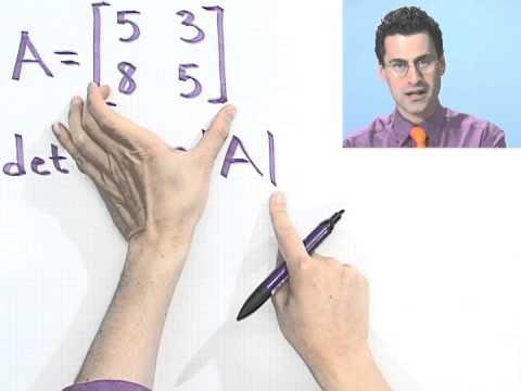 Evaluating 2 x 2 Determinants, Part 1