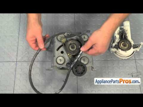 Washer Drive Belt (part #WP27001007) - How To Replace