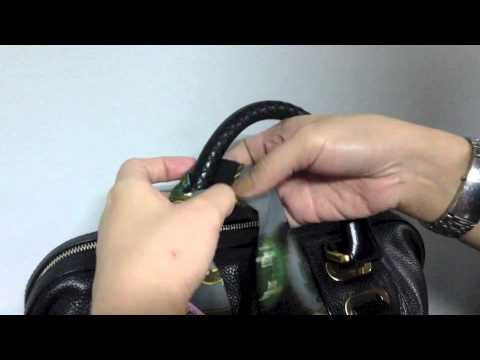 How to wrap your bag handles