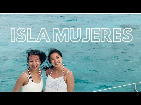SWIMMING WITH FISHIES + ISLA MUJERES | MEXICO VLOG PT. 2
