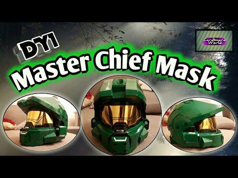Diy Halo Master Chief Mask