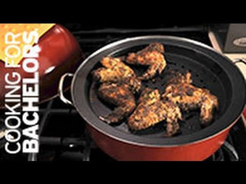 Jerk Chicken Wings by Cooking for Bachelors® TV
