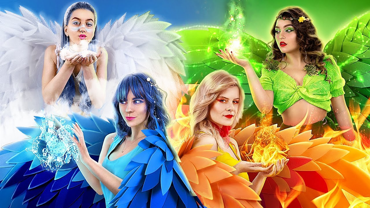 Download Fire, Water, Air, and Earth Fairies! Four Elements in Real Life MP3 Gratis