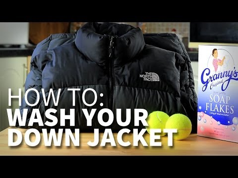 How to wash your down jacket | e-outdoor.co.uk