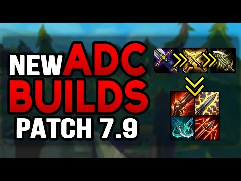 NEW WAY TO BUILD ADC IN 7.9 MID-SEASON UPDATE (League of Legends)
