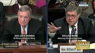 Senator Durbin Asks Attorney General Nominee Barr About Crack Cocaine Sentencing Disparity