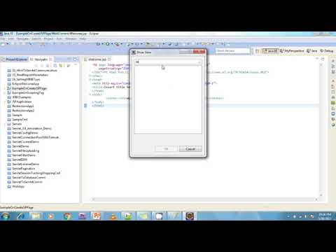 Lesson - 04 : JSP - createing JSP page