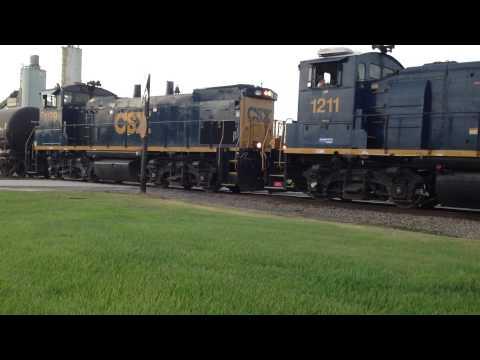 CSX Evening Oil Train Local, Charleston, SC