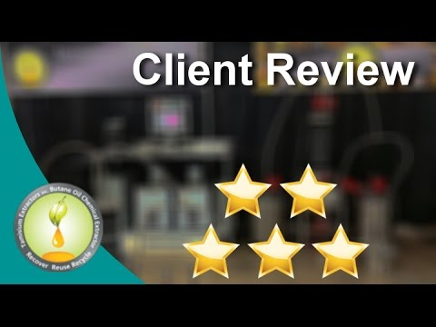 Tamisium Extractors Inc  Superb Five Star Review by Alex