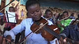 The orchestra changing the tune of one Nairobi slum