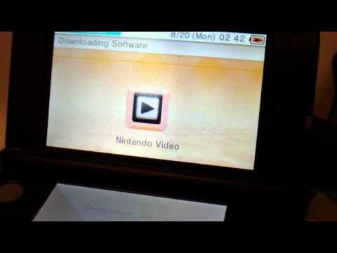 Nintendo 3DS XL eShop Demonstration (1080p HD)