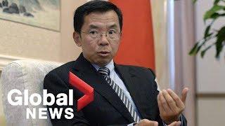 Chinese ambassador threatens of