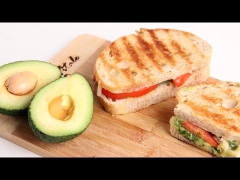Homemade Guacamole Panini Recipe - Laura Vitale - Laura in the Kitchen Episode 934
