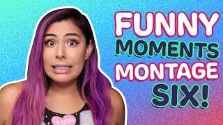 FUNNY MOMENTS MONTAGE 6! - iHasCupquake