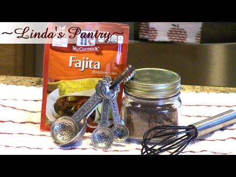 Homemade Fajita Seasoning With Linda's Pantry~