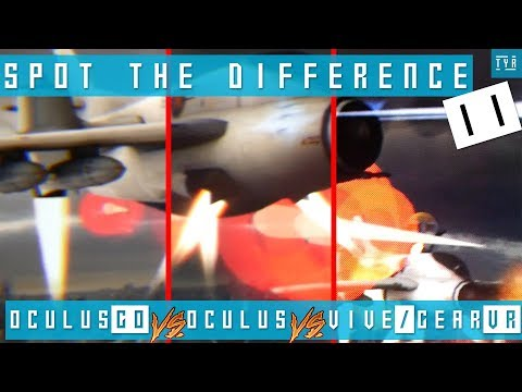THROUGH THE LENSES - OCULUS GO vs OCULUS RIFT vs VIVE GearVR mod