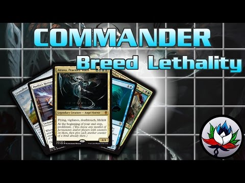 """Breed Lethality"" Commander 2016 Deck Tech and Upgrades featuring Atraxa – MTG!"