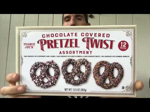 Plus Sized Review: Trader Joe's Chocolate Covered Pretzel Twist Assortment