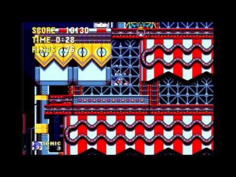 Sonic 3 & Knuckles - Carnival Night 2 Sonic: 0:55 (Speed Run)