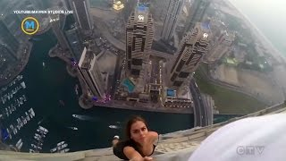 Model who dangled from skyscraper facing legal action | Your Morning