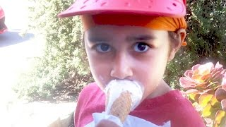 The Time He Washed His Face With Ice Cream (Day 793)