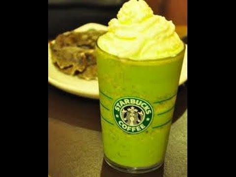 How to make Starbucks Matcha Green tea Frappuccino