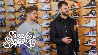 Download The Chainsmokers Go Sneaker Shopping With Complex Video