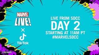Download Marvel LIVE from SDCC 2019!   Day 2 Video