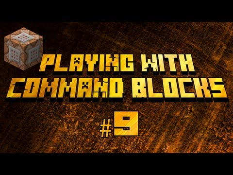 Playing With Command Blocks: Enchanting Items (Minecraft 1.6.2+)