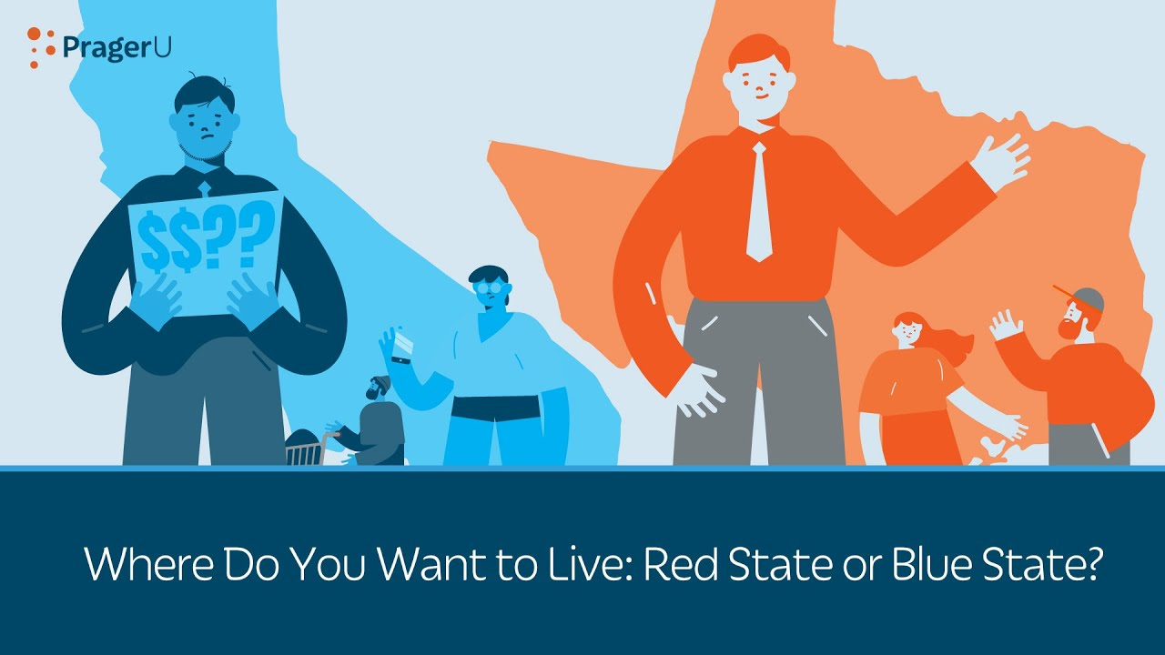 Where Do You Want to Live: Red State or Blue State?
