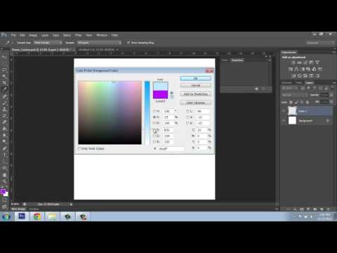 Adobe Photoshop CS6 Basics - Part 5 - Color Picker - Brooke Godfrey
