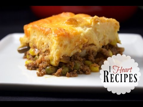 Dinner Recipes | Homemade Shepherds Pie - easy recipe with tasty beef & chicken - I Heart Recipes