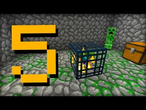 ✔ Minecraft: 5 Things You Didn't Know About Mob Spawners