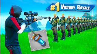 We Totally Broke *NEW* Bot Grenades In Fortnite