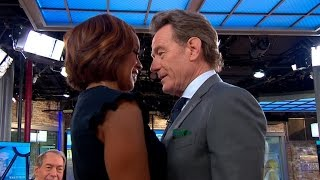 """Bryan Cranston gets """"intimate"""" with Gayle King"""