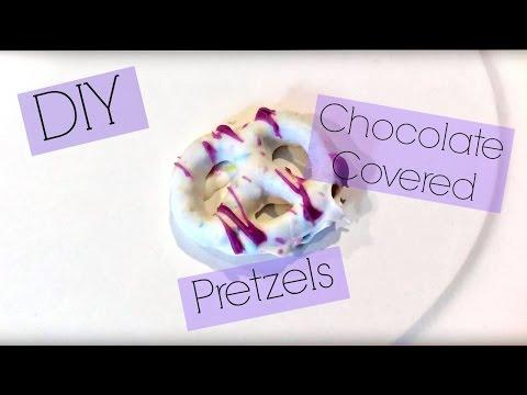 DIY Chocolate Covered Pretzels! (Using gluten free ingredients)