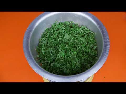 Shamba Bites - Kale and Beef Stew with Ugali