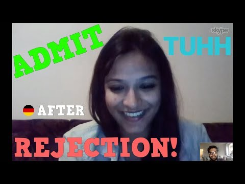 Admit after Rejection: The success story for TUHH with Shamini